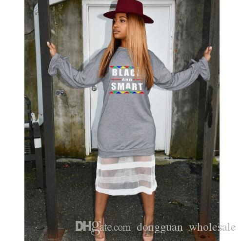 4ec643496401 Letter Printed Casual T Shirt Dress 2019 O Neck Long Sleeve Midi Dress  Spring Perspective Mesh Spliced Straight Robes White Dresses For Cocktail  Party .