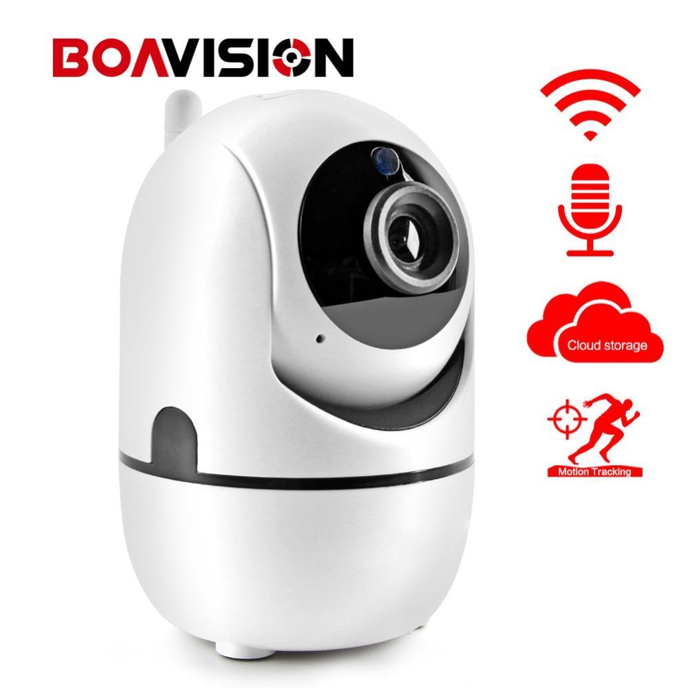 Auto Tracking WIFI IP Camera 1080P WI-FI Smart Cam Cloud Storage Two Way  Audio 720P 2MP Wireless Home CCTV Surveillance Camera