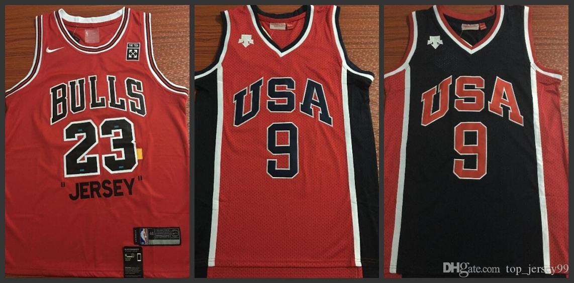 newest collection 4542e 4aa1a Chicago Men Bulls 85 Commemorative Edition #23 9 Michael jerseys Zach  LaVine Embroidery and 100% Stitched Embroidery Jersey