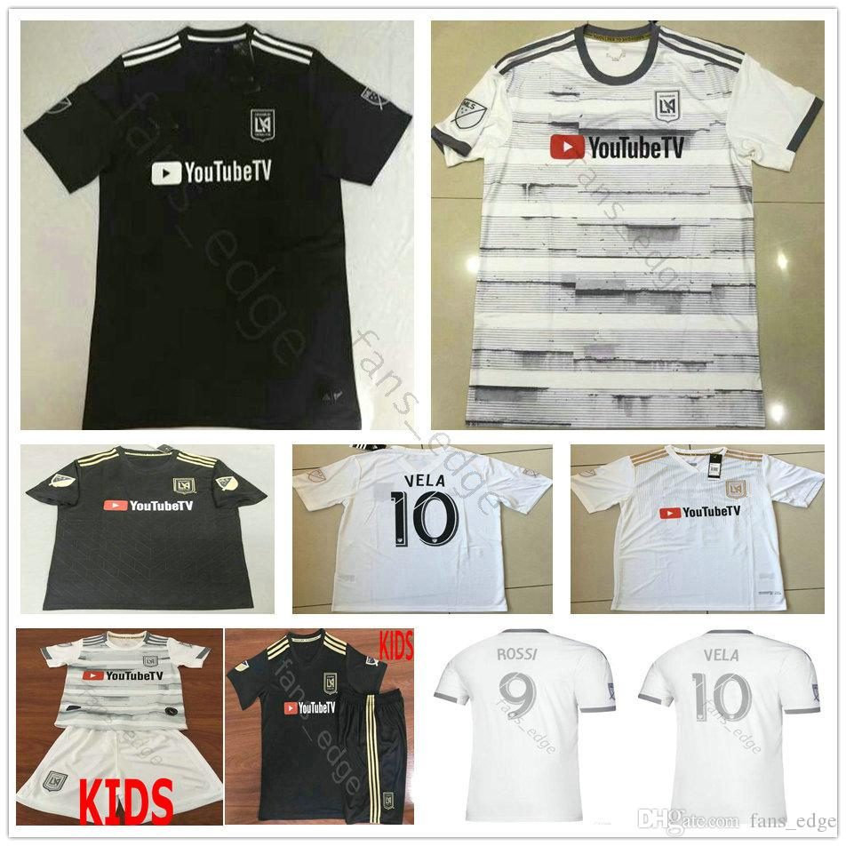 873e49e75d9 2019 2019 2020 MLS Los Angeles FC Soccer Jersey 9 ROSSI 10 VELA GABER CIMAN  ZIMMERMAN Custom Home Away LAFC Adult Kids Football Shirt From Anna1123, ...