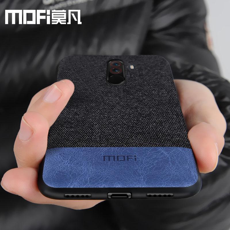 huge selection of 92249 794af Xiaomi POCOPHONE F1 case cover global POCO F1 back cover silicone fabric  protective phone case MOFi original POCOPONE F1 case