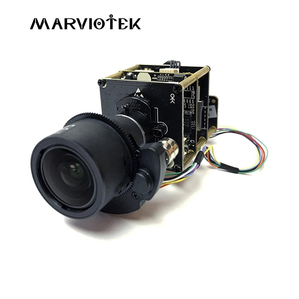 ip camera module board 4K 8MP Starlight UHD IP PTZ Network Camera Module  Board 3X Zoom 9-22mm Motorized Lens Sony Onvif P2P