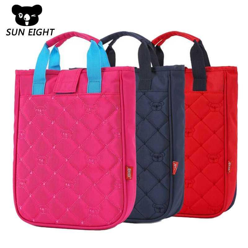9f0c4cad53 SUN EIGHT Children Study Handbag For Girls Boys School Bag Kids Messenger  Bags Student Books Bag Cool Backpacks Leather Bags From Qiutianli