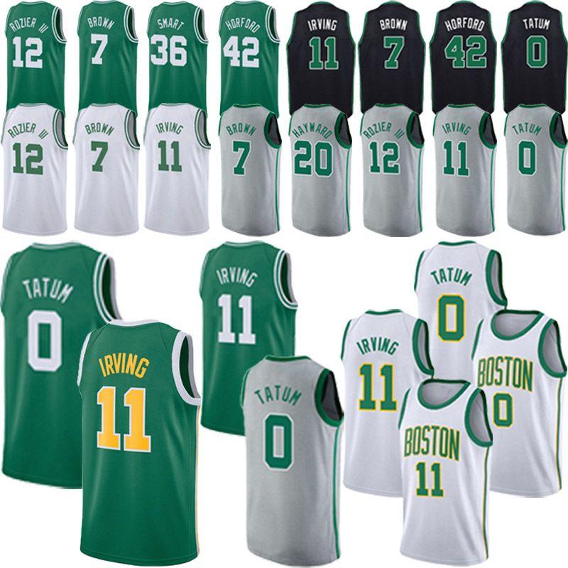 premium selection 398f6 de625 cheap Jayson 0 Tatum jersey 11 Irving jersey Jaylen 7 Brown Gordon 20  Hayward Men Terry 12 Rozier Basketball Jerseys