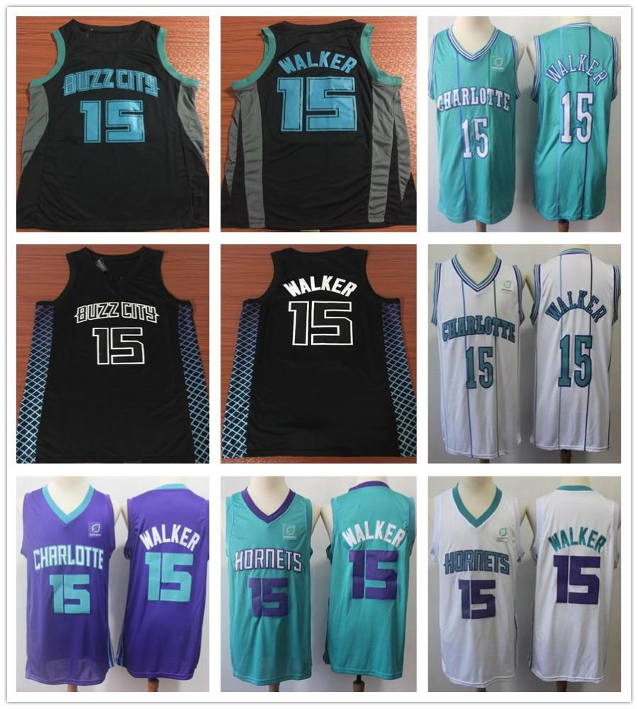 77ea2a445 where can i buy 2019 2019 new city edition 15 kemba walker jerseys men  black purple