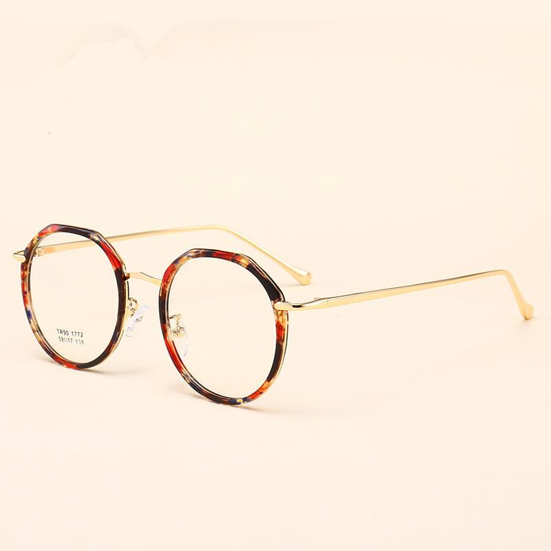 1dfce73879fa 2019 2019 Chic Retro Round Transparent Glasses Clear Lens Fashion Eyeglasses  Fake Optical Eye Glasses Frames Myopia Glass Spectacles From  Marquesechriss