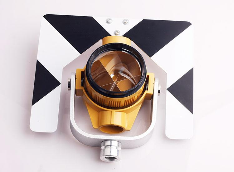 Freeshipping Black and White Single Prism For Nikon Topcon Sokkia Total  Station Constant -30 0 Mm Surveying Equirement