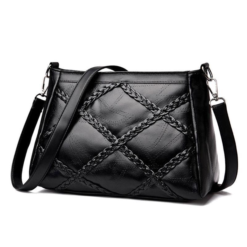 3f6717d9558 High Quality Polyeater Women Leather Handbag Shoulder Bag Tote Purse  Messenger Hobo Satchel Bag Crossbody Bags
