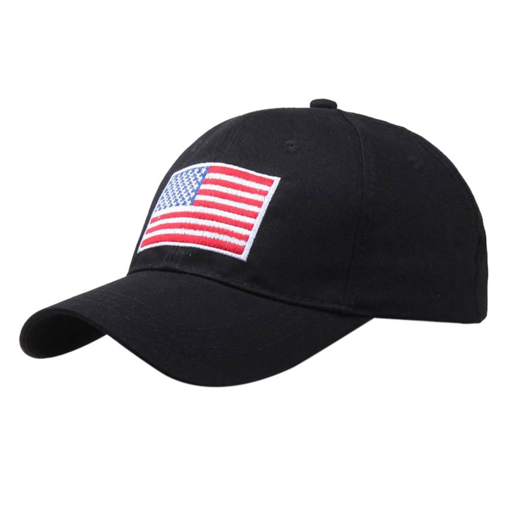 USA American Flag Snapback Cap Adjustable Baseball Cap Fashion unisex casual adjustable Hat bone masculino