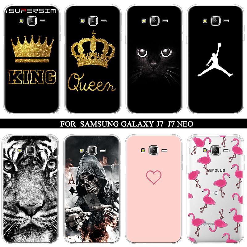 best website 8caad 42540 5.5 Cases for Samsung Galaxy J7 Neo Case Coque Soft Silicone for galaxy j7  Nxt Back Cover Back for Samsung J7 Neo Phone Case