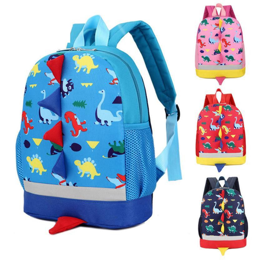 83f0c0cd6ad6 Kids Fashion Cartoon Backpack Baby Boys Girls Kids Dinosaur Pattern Animals Backpack  Toddler School Bag Best Gift For Children Small Backpack Backpack ...