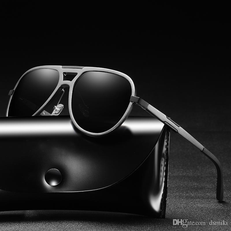 fc830d628a Compre Diseñador De Moda Gafas De Sol Aluminio Magnesio Deportes Ciclismo  Al Aire Libre Gafas Gafas Polarizadas Hombres Gafas De Sol UV400 Hombre  Gafas De ...