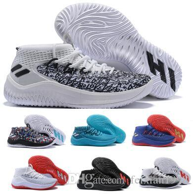 f71f8dc3ae7 Mens Dame 4 Basketball Shoes Sneakers Man 2018 Top Grey Camp Static Rose  City Lillard 4s IV Ultra Zapatillas Trainers Sports Shoes 7 12 East Bay  Shoes Shoes ...