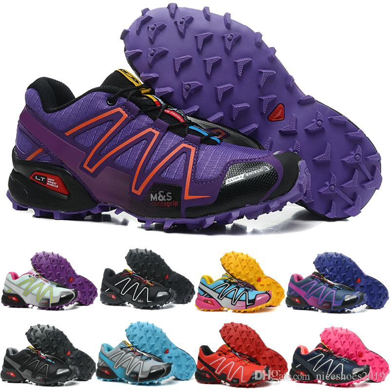 Salomon Speedcross 3 Trail Running Sneaker Shoe Womens