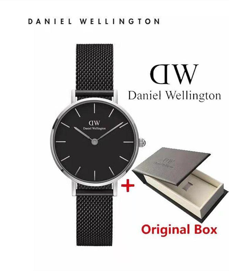 b5bc3e966dfa Fashion Wellington Watches Black Steel Strip 32mm Dial Women Watches ...