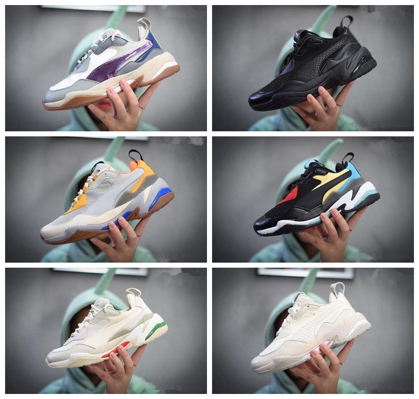 Zapatillas New Deportivo Thunder De Moda Hombre Brand Naranja Deporte Zapatos Para Diseñador Entrenamiento Arrival Spectra Casual Negro lFc3KuT1J