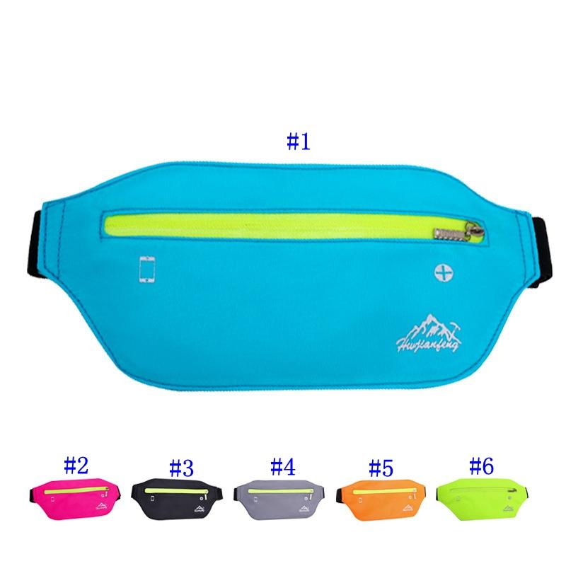 Outdoor Sport Waist Bag Belt Pouch Waterproof Nylon Belt Pouch Multifunction Running Pocket Case Arm Band Pack MMA2447