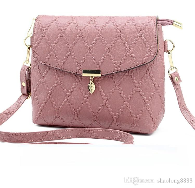 Vintage Women s Handbags Famous Fashion Brand Candy Shoulder Bags ... cd7435664730e