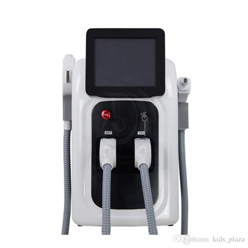 Professional Opt Shr Ipl Laser Fast Hair Removal Machine Nd Yag Laser Tattoo Removal Elight Skin