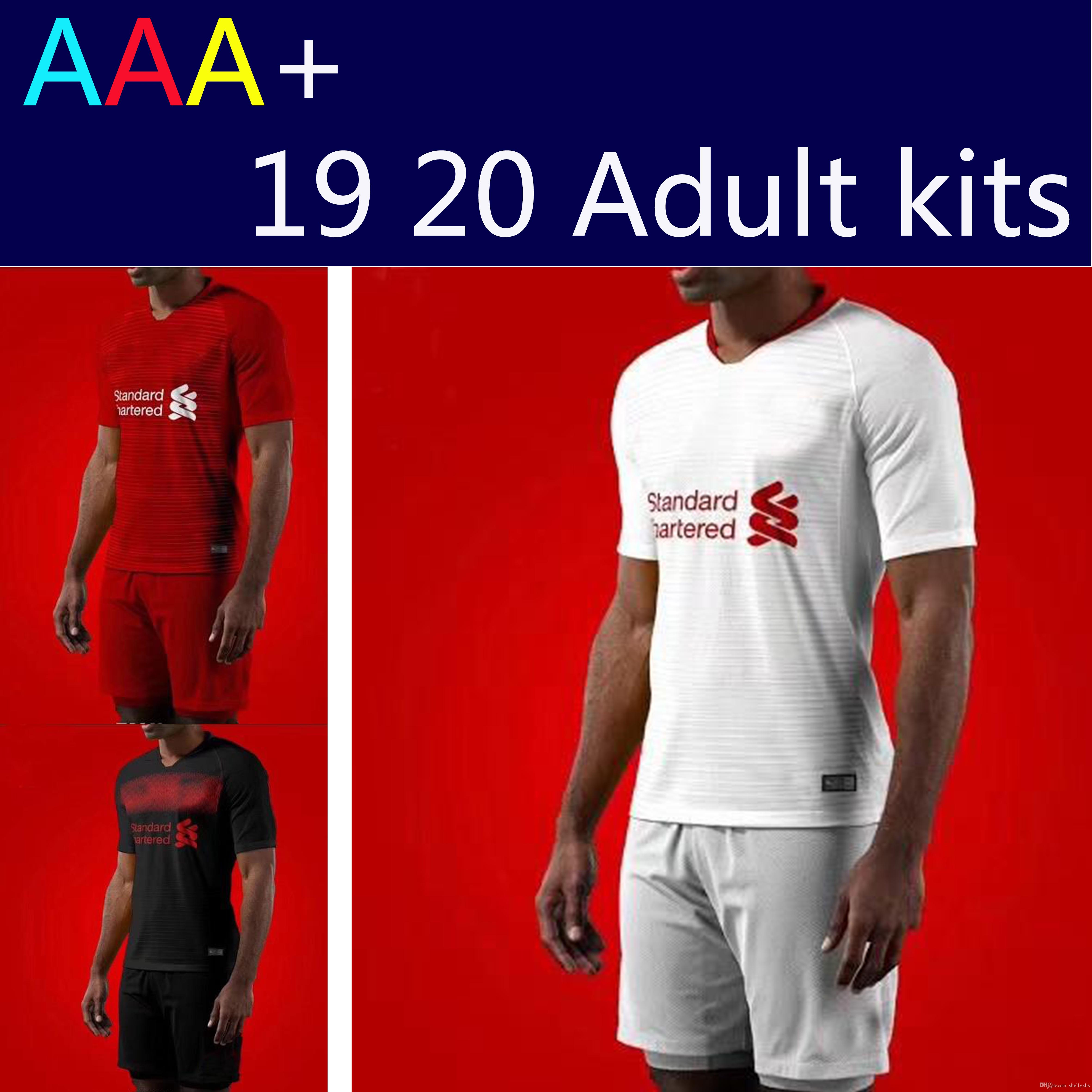 426bf573 Mane Adults KIT 2019 2020 3rd COUTINHO MANE Soccer Jerseys 19 20 ...