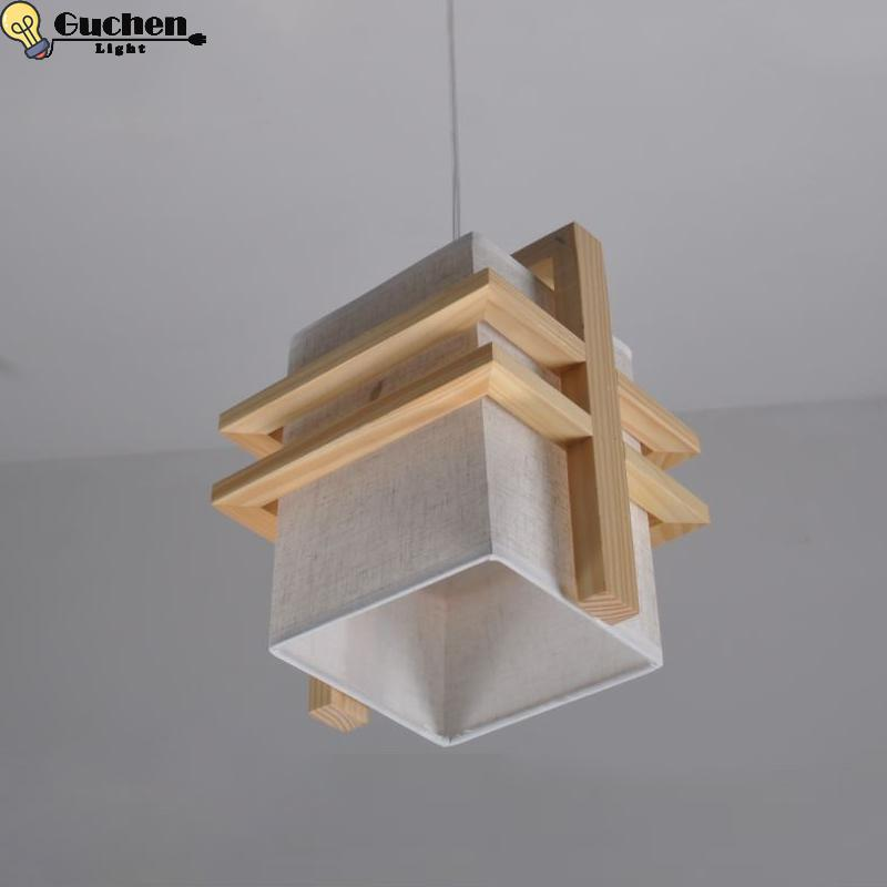 Lights & Lighting Alert Modern Led Luminaires Wooden Chandelier Loft Lighting Novelty Fixtures Nordic Pendant Lamps Living Room Hanging Lights Fixing Prices According To Quality Of Products