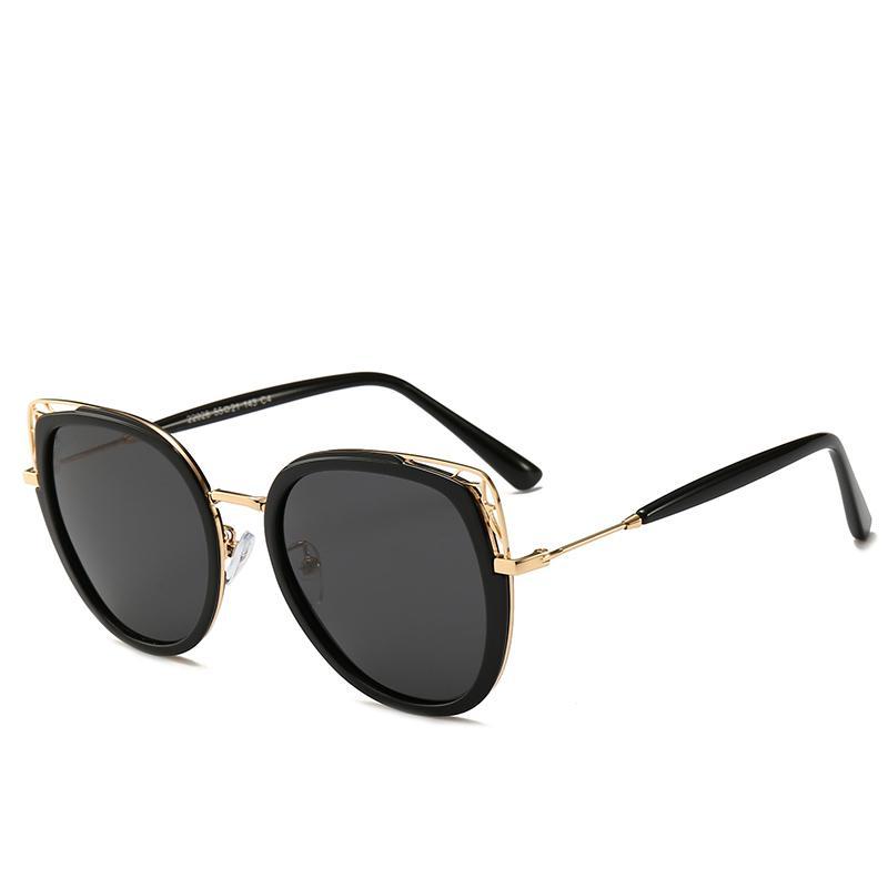 78ad406884 Compre 2019 Nuevo Ojo De Gato Gafas De Sol Moda Mujeres Marca Elegante  Señora Gafas Alta Calidad Protección UV Diseñador De Gafas De Lujo Gafas De  Sol ...