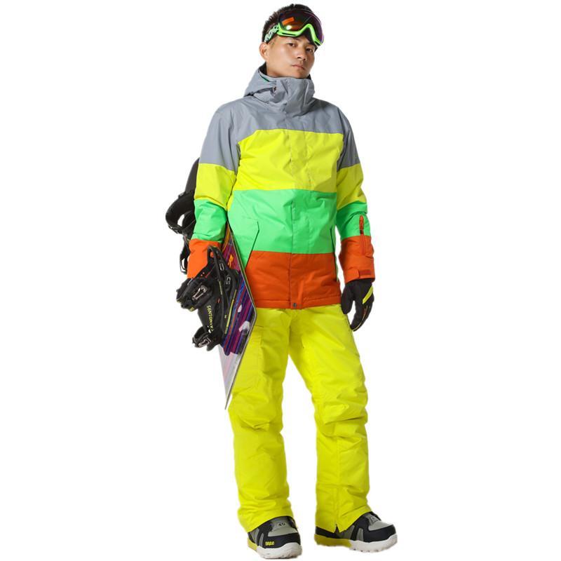 2019 New Style Men Ski Suit Super Warm Clothing Skiing Snowboard Jacket+Pants  Suit Set Windproof Waterproof Winter Outdoor Sport Wear From Bluelike a8f9e5132