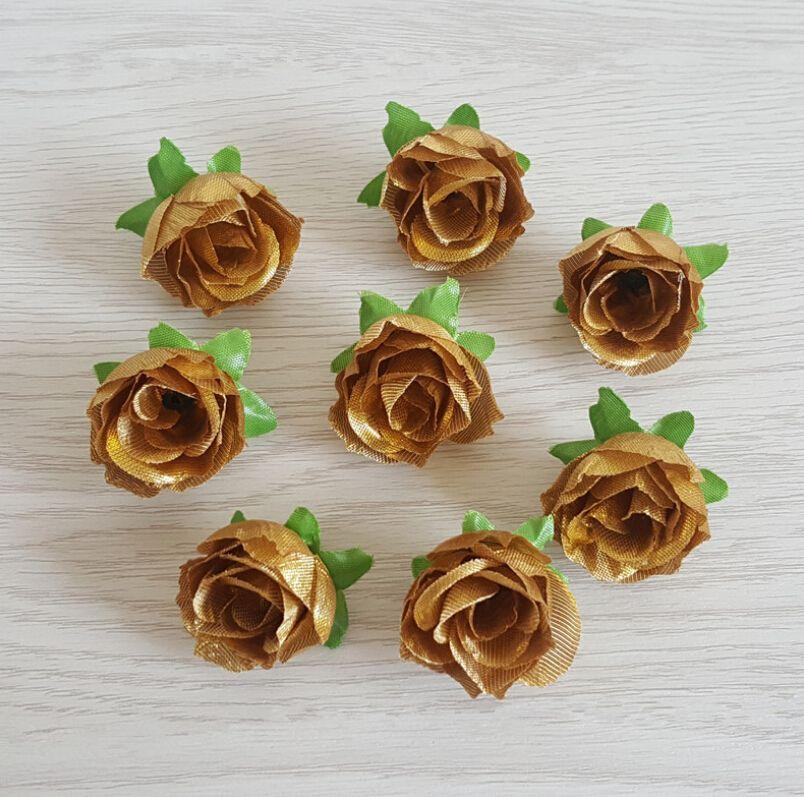 10 adet Yapay Sahte Gül Çiçek Başlı 3 cm İpek Çiçek Düğün Gelin Buketi Ev Dekorasyon DIY Çelenk Defteri Hediyeleri
