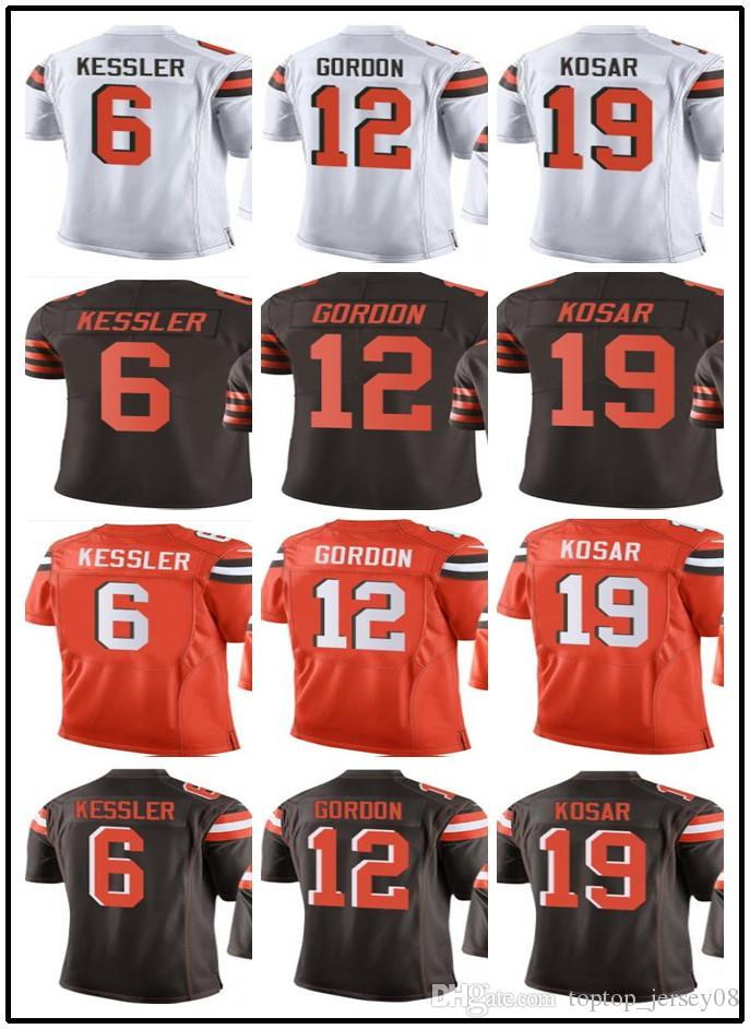 2019 Customized Cleveland Browns Sport Rugby Clothing Men WOMEN 6 Cody  Kessler 12 Josh Gordon 19 Bernie Kosar Rush Football Jersey From  Toptop jersey08 7ba2eff70