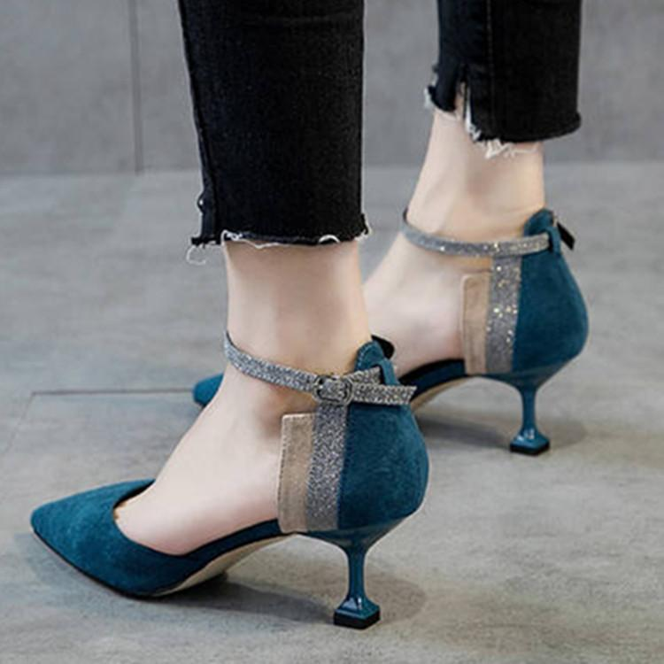 faef42396e08 Women Sandals High Heels Women Shoes Platforms Fashion Summer Scarpe Donna  Office Lady Pointe Party Sexy Ladies Shoes Rome 2018 Online with   45.19 Piece on ...