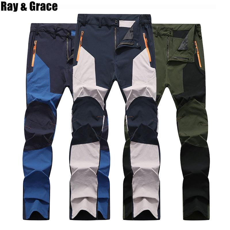 9e140a8f6cdd 2019 RAY GRACE Summer Quick Dry Outdoor Pants Waterproof Breathable Elastic Trekking  Pants Hiking Cycling Climbing Thin Trousers From Prescott