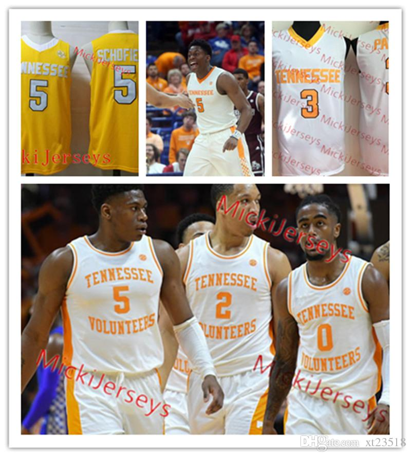 reputable site 7a4a4 7e687 Custom Tennessee Volunteers Basketball Jersey Jord Bone Jacob Fleschman  Brad Woodson Jorda Bowden Lucas Campbell Tennessee Volunteers Jersey