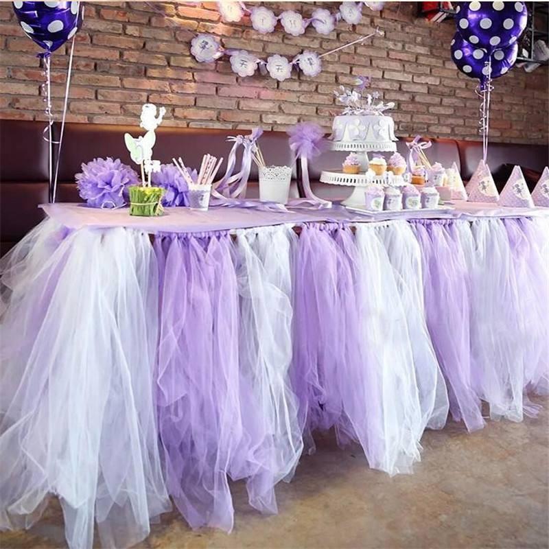 화이트 얇은 롤 스풀 투투 30cm 25 야드 DIY 테이블 스커트 생일 웨딩 파티 장식 Tulle Organza Roll 축제 용품