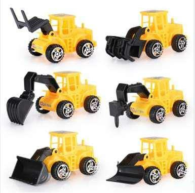 Mini Engineering Car Tractor Toy Dump Truck Model Classic Toy Cars for Children Boy Gift Smart Car Toys