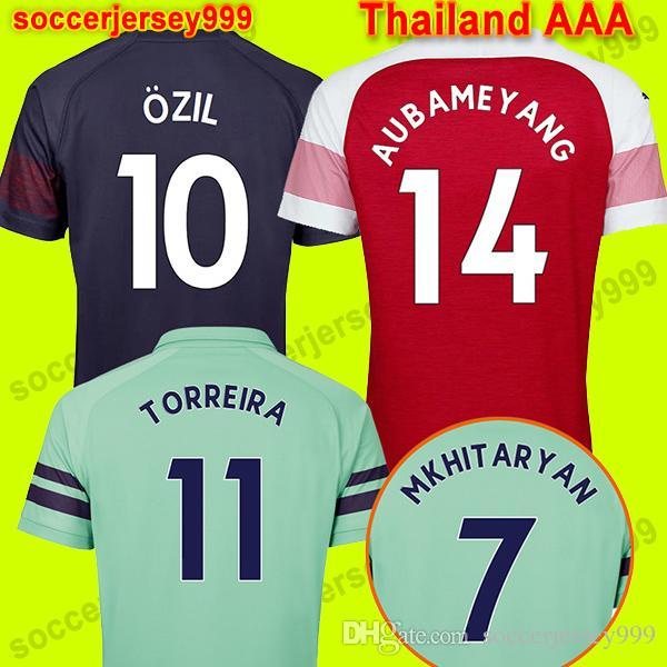2ef7cac1597 TOP Thailand Soccer Jersey Football Shirt Uniforms 18 19 AUBAMEYANG ...