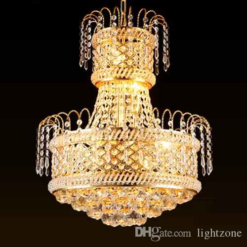 European Style Crystal Chandeliers Lights Led Pendant Lamps For