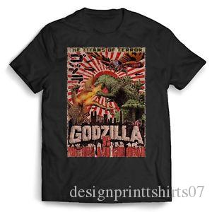 Godzilla The Titans Of Terror Men's / Women's T Shirt
