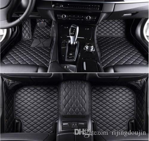 2019 Fit For 2008 2013 For Toyota Highlander Waterproof Floor Mats