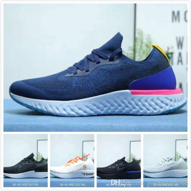 a1b976e623ad Epic React Element 87 55 Undercover Men Running Shoes For Women Designer  Sneakers Sports Mens Trainer 55s 88s Sail Light Bone Sneakers 36 45 Purple  Shoes ...