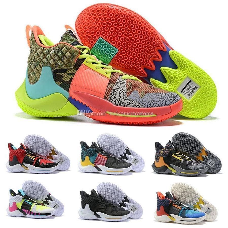 New Arrival Why Not Basketball Shoes Men Zer0.2 Sneakers Zero 2 Zero2 Russell Westbrook Ii Basketball Size 40-46