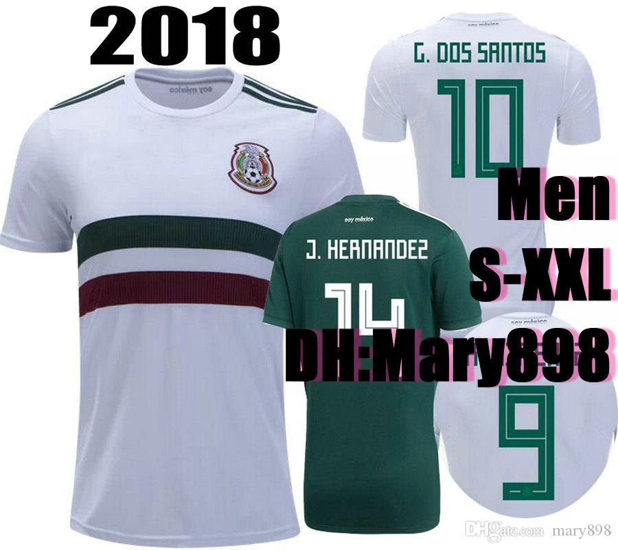 7f0b6063c Top Thai Quality World Cup 2018 Mexico Home Soccer Jersey 2018 ...