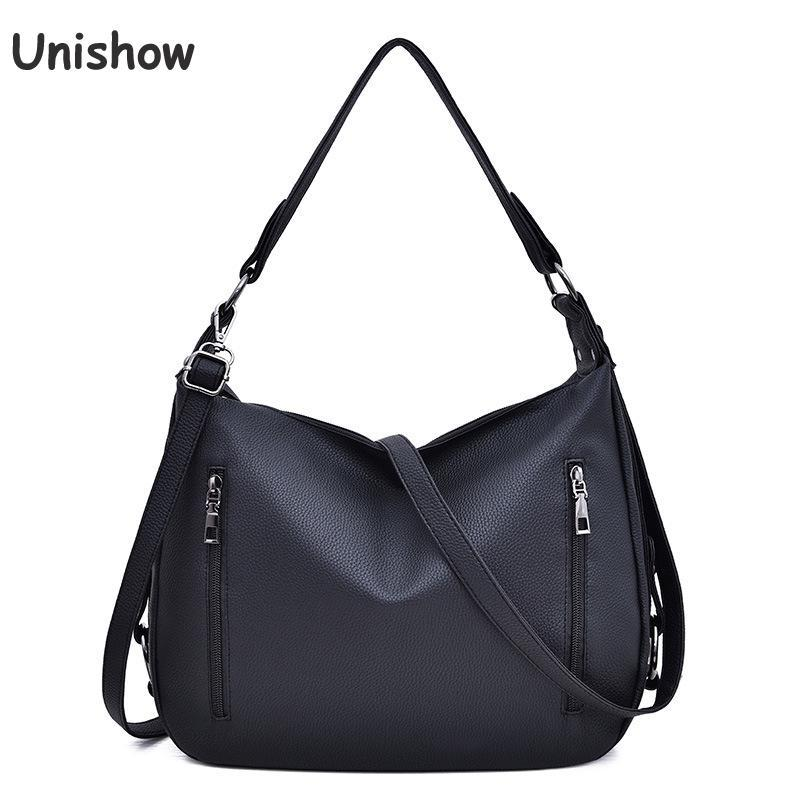 2460463d19 Unishow Brand Women Tote Bag Large Capacity Female Handbags Brand Designer  Pu Leather Women Shoulder Bags Casual Crossbody Bag Bags For Sale Handmade  ...