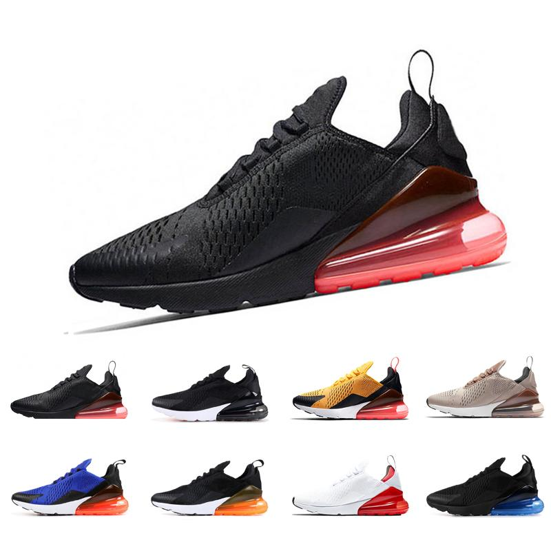 310beae4146 New Arrivals 2018 French Champion 270 Men Shoes Maxes Black White Cushion  Triple Mens Sneakers Fashion Air Athletics Trainers Running Shoes Shoes  Online ...
