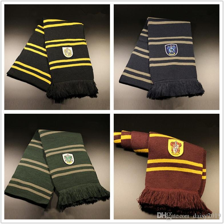 74ca0d29e3cd3 2019 Ainiel Harri Potter Scarf Gryffindor Scarf Ravenclaw Scarves Slytherin  Hufflepuff Neckerchief For Women Men Boys And Girls 193cm From Daisy2019