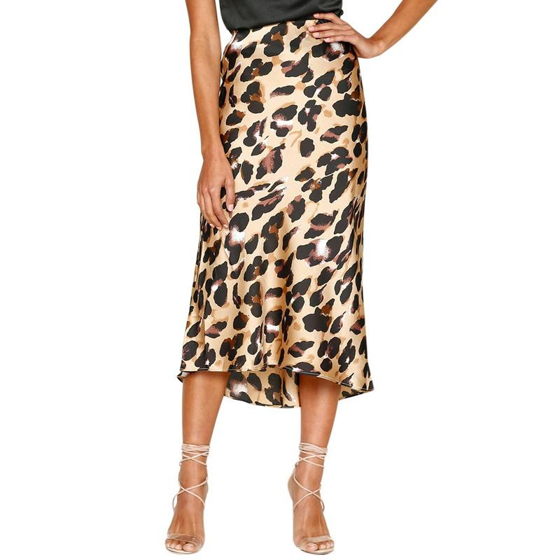 4c8742ed6 2019 Sexy Women Beach Dress Leopard Print Summer Autumn Plus Size ...