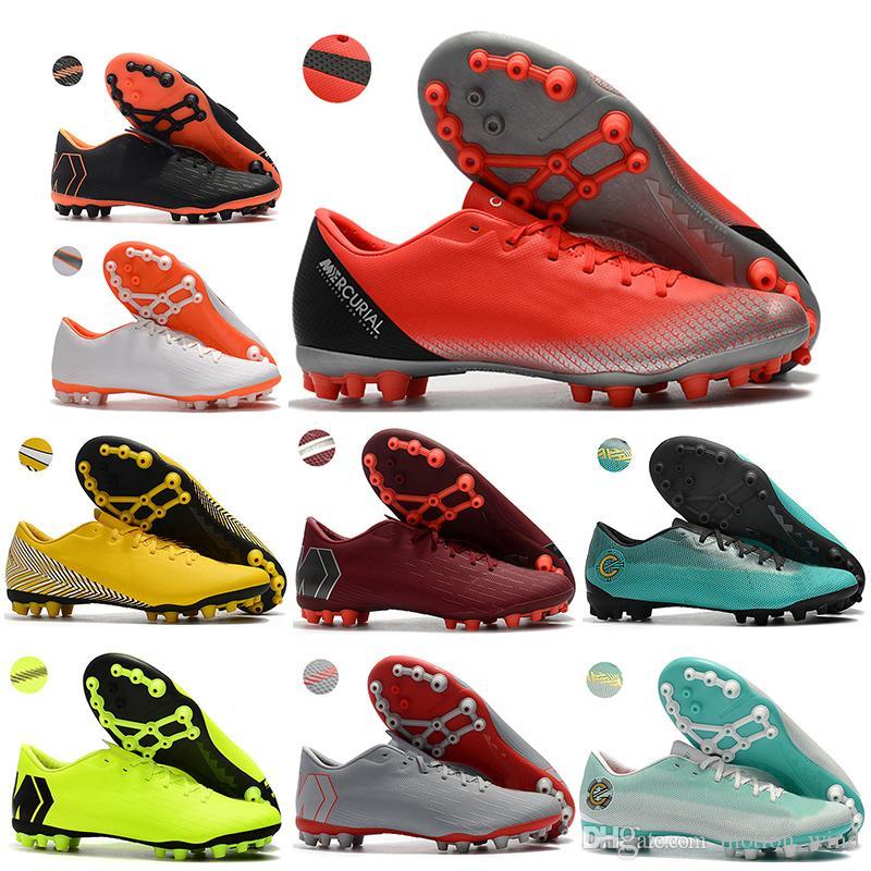 Compre Nuevos Zapatos De Fútbol Para Hombre Con Botines Bajos Vapor 12  Academy CR7 AG R Zapatos De Fútbol ACC Mercurial Superfly VI AG Tacos De  Fútbol Para ... 6ec9abf0d843c