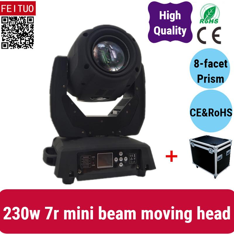A- 10lights with 5 road case Good price Mini 7r sharpy 7r moving head beam 230w