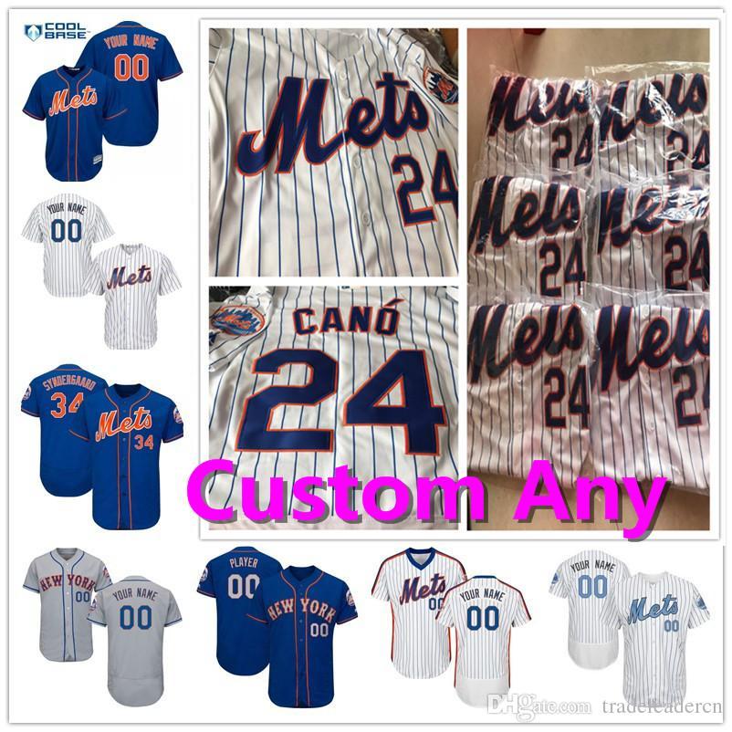 bccd89ddf New York Mets 24 Cano Syndergaard DeGrom Amed Rosario Edwin Diaz ...