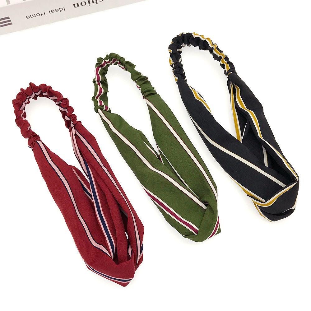 95555930e0 Produttori di gioielli di Yiwu che elaborano tessuti personalizzati Strisce  incrociate larghe elastiche prendono il comando nel prendere la fascia di  ...