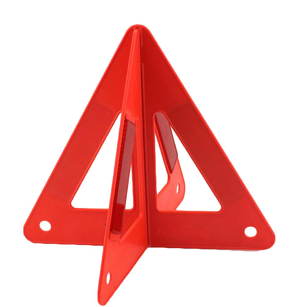 NEW Warning Triangle Safety Auto Car Fold Emergency Reflective Flash Sign Vehicle Fault Cars Tripod Folded Stop Sign Reflector
